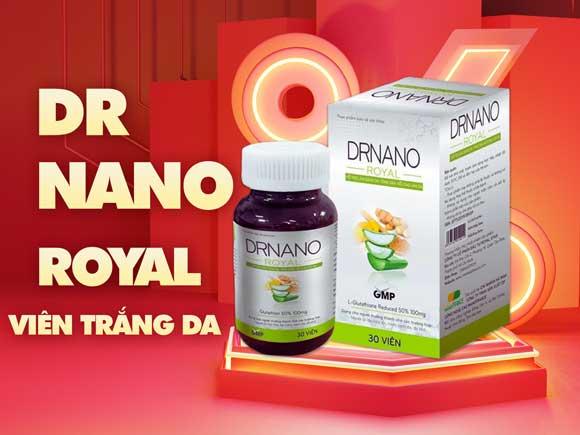 dr-nano-royal-cover-t88- Viên uống trắng da DrNano Royal Minh Lady Beauty