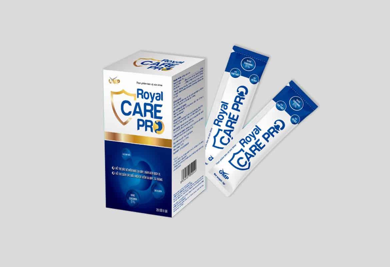6 Lưu ý khi sử dụng Royal Care Pro cốm trị dạ dày