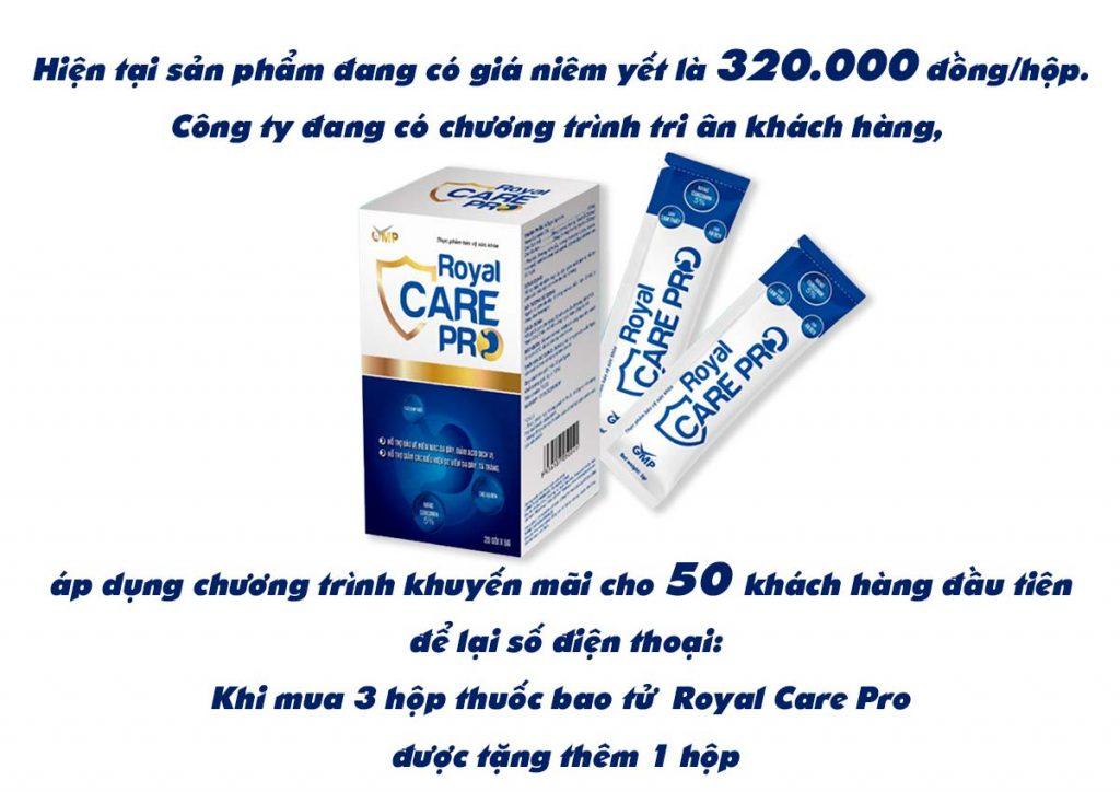 thuốc bảo vệ bao tử Royal Care Pro