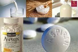 Aspirin làm trắng da toàn thân